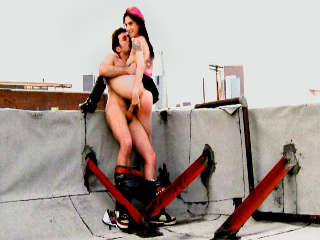Rooftop Sex Joanna Angel & James Deen