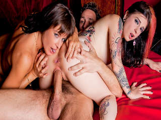 4 Way Paris Fun Joanna Angel & James Deen