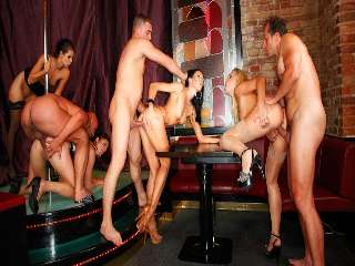 Bachelor Party Orgy #03 Angie & Barra Brass