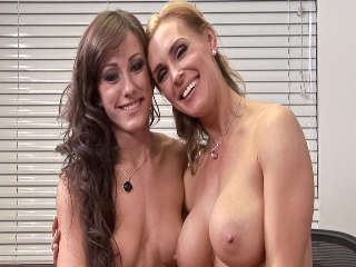 BTS-Lesbian Office Seductions #05 Jennifer White & Tanya Tate