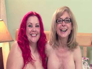BTS-Lesbian Truth Or Dare #05 April Flores & Nina Hartley