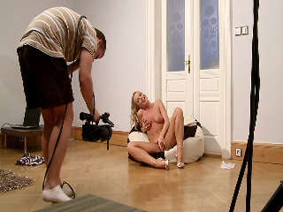 Silvia On A Big Pillow - Behind The Scenes Part 1 Silvia Saint
