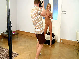 Silvia On A Big Pillow - Behind The Scenes Part 2 Silvia Saint