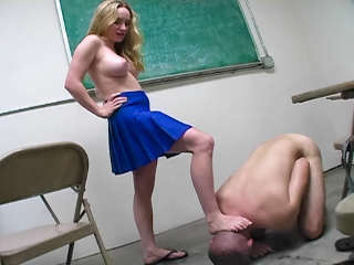 Fem Dom Ball Busting Cheerleaders #02 Aiden Starr
