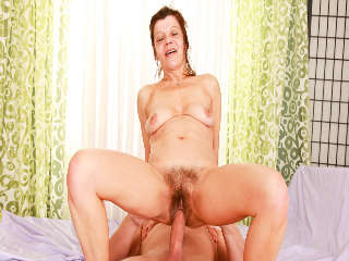 My Hairy Cream Pie #16 Steve Q & Ludmila