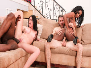 Interracial Swingers #04 Steve French & Nat Turnher