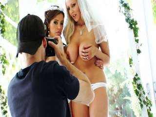 BTS-Pretty Sloppy #04 Francesca Le & Julia Ann