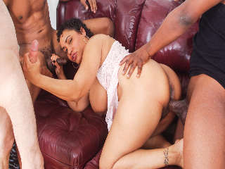 My Hairy Gang Bang #06 Kira B & Hooks