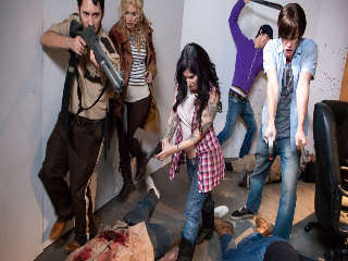 Walking Dead Orgy! Joanna Angel & Tommy Pistol