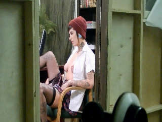 January Behind The Scenes! Joanna Angel & Vulpix