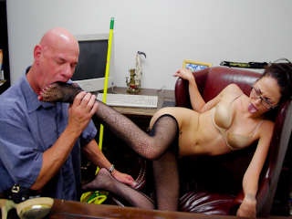 This Isn't The Janitor - It's A XXX Spoof! Rod Fontana & Veronica Jett