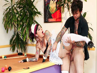 French Fuck Maid Joanna Angel & Small Hands