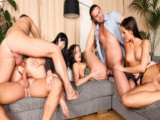 5 Incredible Orgies Kari & Tarzan