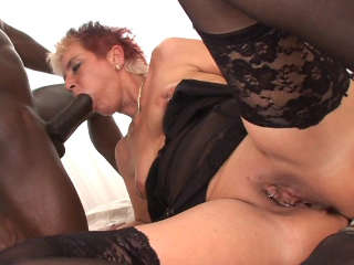 Your Mom Sucks Black Cock - Sandra