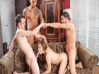 College Group Sex Alex Gonz & Keni Styles