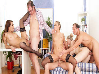 Swingers Orgies #07 Barra Brass & George Uhl