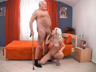 This Isn't Bad Grandpa It's A XXX Spoof! Grandpa Cocksthrill & Lola Darling