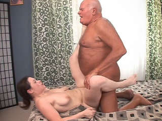 This Isn't Bad Grandpa It's A XXX Spoof! Grandpa Cocksthrill & Lara E