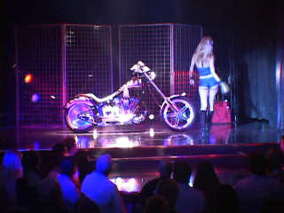 Harley Show Backstage And Performance Tera Patrick