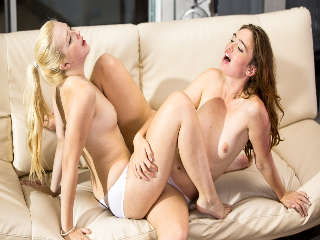 Lesbian Adventures - Wet Panties Trib #07 - Wet Cotton Panties Jodi Taylor & Samantha Rone