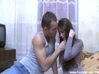 Shy cutie unleashes the whore inside Anna