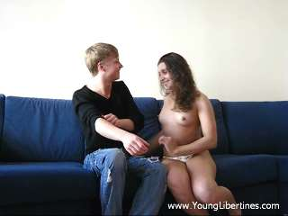 Teen fuck on a sofa Vita