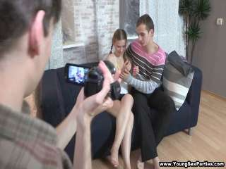 DP session for naive teeny Emma