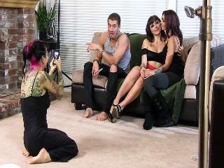 Bromance Behind The Scenes Joanna Angel & Tommy Pistol