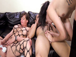 Slutty Tory Lane And Angel Del Rey Crave Some Cock Attention!