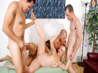 Bi Cuckold Gang Bang #09