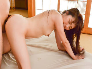 Ryouka Shinoda wants her pussy well nailed and stimulated