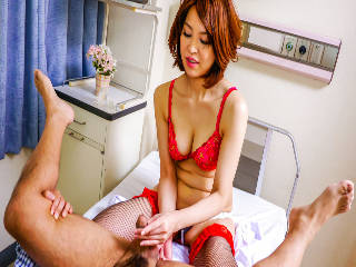 Insolent Erika Nishino enjoys cock with pleasure