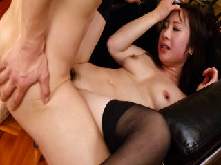 Cock craving Yuka Tokona sucks and fucks two poles