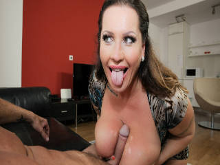 Laura's Monster Titties Creampied!
