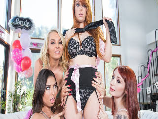 Strap-On Stories: Gangbang Bachelorette