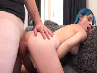 Stepsister bj lesson and fuck